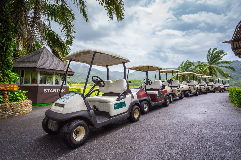 Tinidee Golf Resort@Phuket - Golf Car