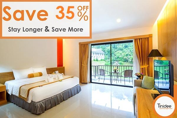 TNDP stay longer and save more 35%